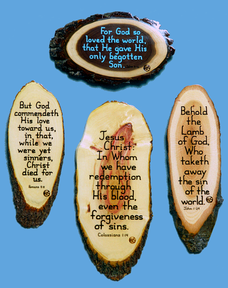 Wood Bible Verse Plaques Salvation