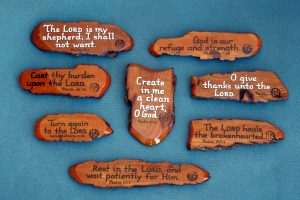 Wooden Bible Verse Magnets