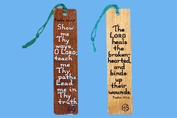 Wooden Bible Verse Bookmarks